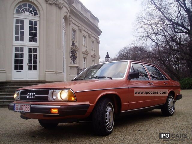 1978 Audi  5000 fuel injection (original U.S. model) Limousine Used vehicle photo
