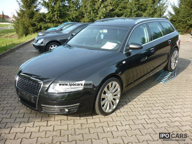 Audi  A6 4F Avant 2.4 chrome wheels tuning 2005 Tuning Cars photo