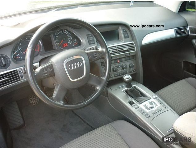 2005 Audi A6 4f Avant 24 Chrome Wheels Tuning Car Photo And Specs