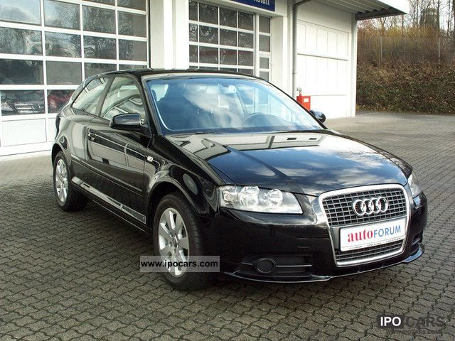 2007 audi a3 1 6 fsi ambiente with climate control car photo and specs. Black Bedroom Furniture Sets. Home Design Ideas