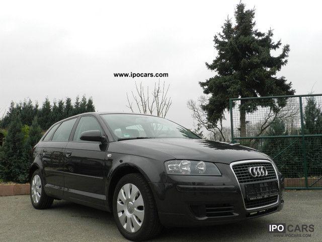 2007 Audi  A3 2.0 TDI Sportback DPF 1Hand MMI navigation system VAT 19% Estate Car Used vehicle photo
