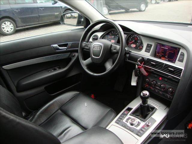 2007 Audi A6 AVANT 20 TDI 125KW Prol Car Photo And Specs