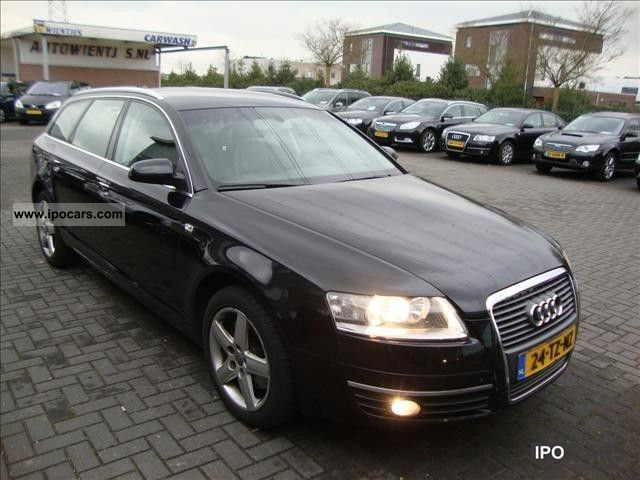 2007 audi a6 avant 2 0 tdi 125kw prol car photo and specs. Black Bedroom Furniture Sets. Home Design Ideas