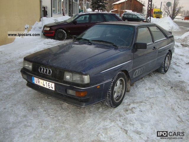 1984 Audi  Quattro Sports car/Coupe Used vehicle photo