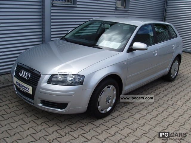 2006 audi a3 sportback 1 6 attraction climatronic car photo and specs. Black Bedroom Furniture Sets. Home Design Ideas