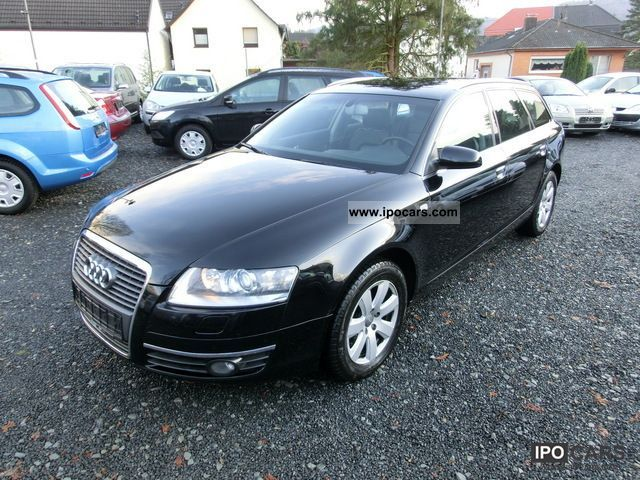 2006 audi a6 avant 2 7 tdi leather navi car photo and specs. Black Bedroom Furniture Sets. Home Design Ideas