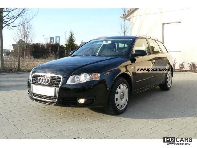 2007 audi a4 avant 2 0 tdi multitronic apc car photo and specs. Black Bedroom Furniture Sets. Home Design Ideas