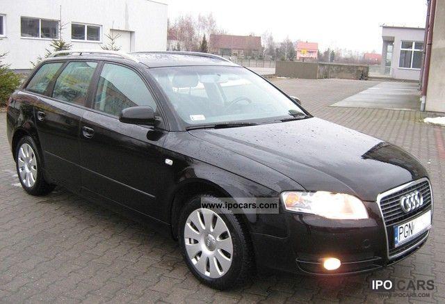 2006 Audi  A4 TDI NAVI 6-2-BIEG STR_KLIMATR ESP 6xAIR KS_SE Estate Car Used vehicle photo