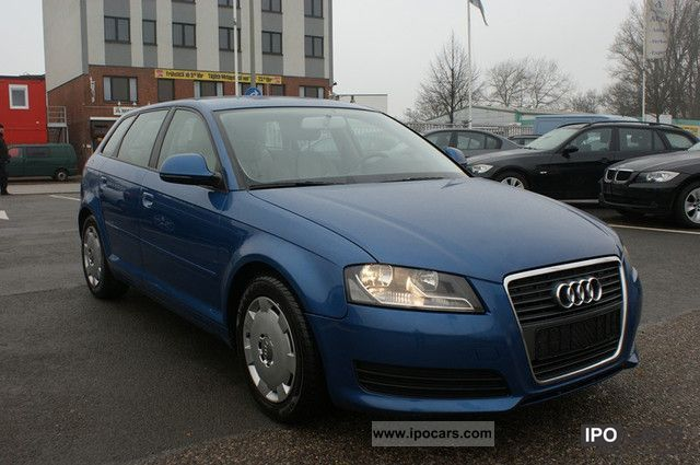 2009 Audi  A3 Sportback 1.9 TDI DPF Face-Lift/1.Hand/Diesel Estate Car Used vehicle photo