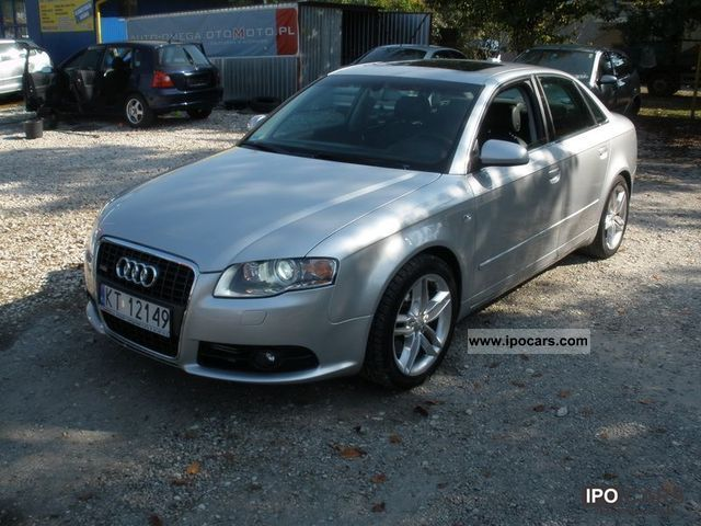 2006 audi 3 2fsi a4 s line quattro przeb 80tys car. Black Bedroom Furniture Sets. Home Design Ideas
