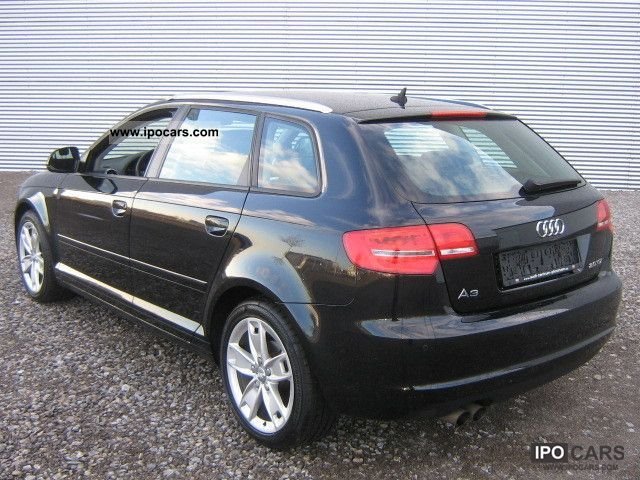 2008 audi a3 2 0 tdi sportback new model mtl pdc alu car photo and specs. Black Bedroom Furniture Sets. Home Design Ideas