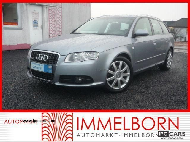2007 Audi  A4 TDI S line Sport Package + Navi * Leather * Sports * 17LM Estate Car Used vehicle photo