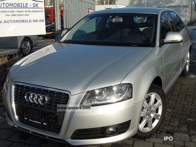 2009 Audi  A3 1.9 TDI Ambiente NAVI pace. SHZ MFL BOSE Limousine Used vehicle photo