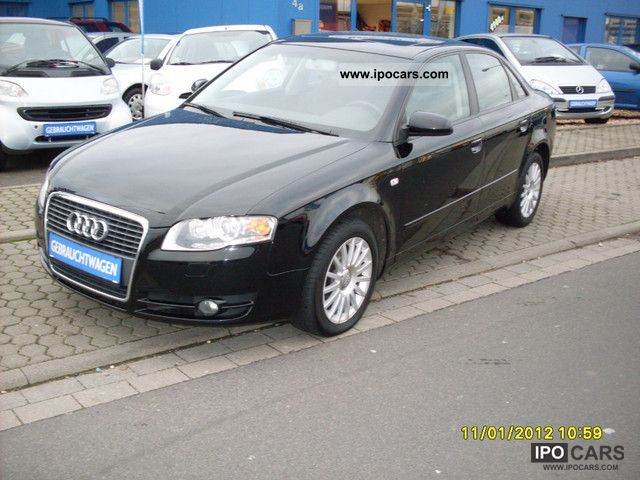 2006 Audi  A4 2.0 TDI DPF top equipment Limousine Used vehicle 			(business photo