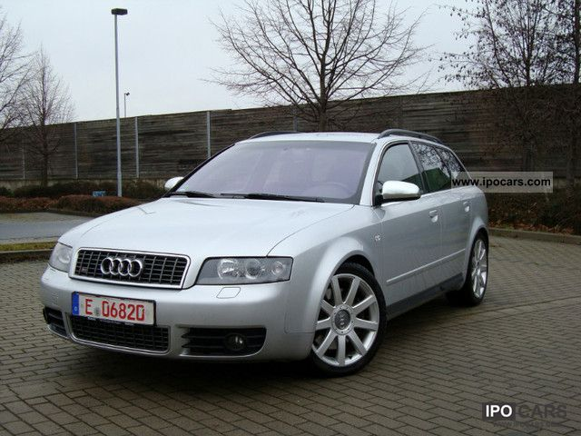 2004 Audi  Navi Xenon S4 BOSE RECARO V8 VAT identification Estate Car Used vehicle photo