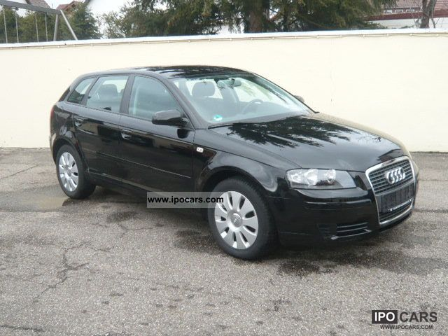 2008 audi a3 1 6 sportback car photo and specs. Black Bedroom Furniture Sets. Home Design Ideas