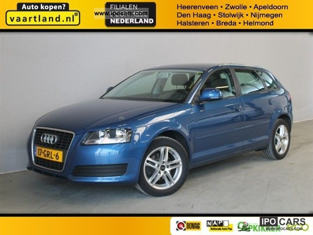 2008 Audi  A3 Sportback 1.6 per business line Small Car Used vehicle photo