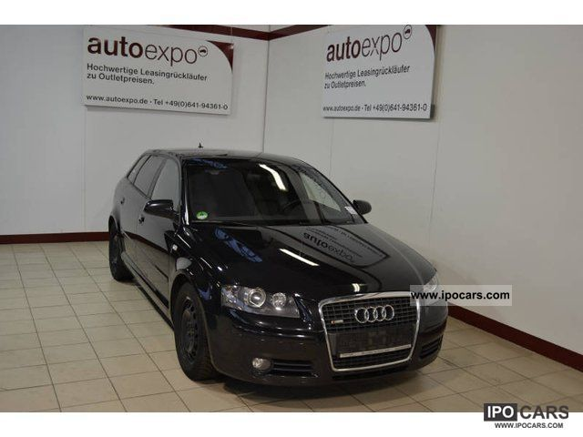 2007 Audi  A3 2.0 TDI Sportback DPF (DSG) S tronic S line S Estate Car Used vehicle photo