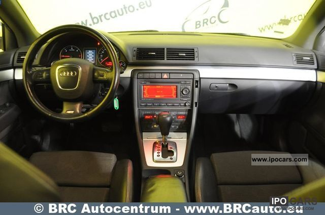 2006 audi a4 2 0 tdi s line auto matas car photo and specs. Black Bedroom Furniture Sets. Home Design Ideas