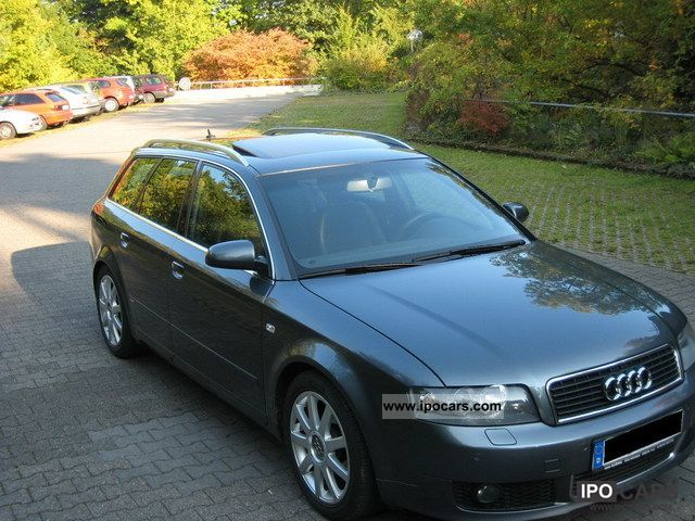 2004 Audi  A4 2.0 FSI S-Line Plus, Navi-Plus Estate Car Used vehicle photo