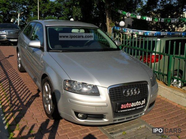 2007 Audi  A3 DOOR-TO-DOOR DELIVER / francais / German Other Used vehicle photo