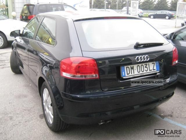 2008 audi a3 1 9 tdi e fap attraction car photo and specs. Black Bedroom Furniture Sets. Home Design Ideas