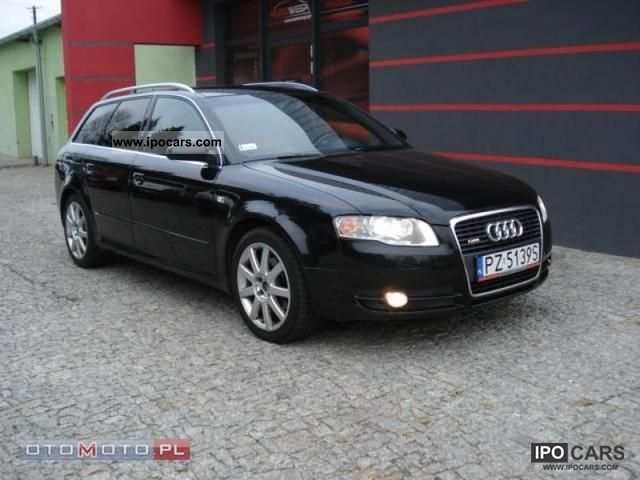 2006 audi a4 s line 2 0 tdi ksenon navi car photo and specs. Black Bedroom Furniture Sets. Home Design Ideas