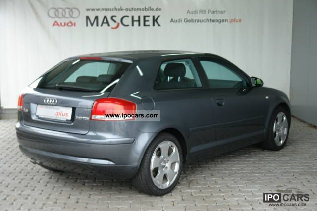 2007 audi a3 2 0 tdi ambition shz air transport information car photo and specs. Black Bedroom Furniture Sets. Home Design Ideas