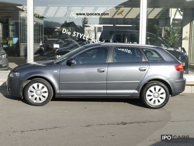 2006 audi a3 2 0 tdi sportback attraction car photo and specs. Black Bedroom Furniture Sets. Home Design Ideas