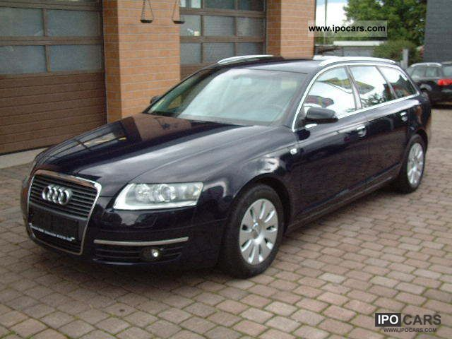 2006 audi a6 avant 2 0 tfsi xenon car photo and specs. Black Bedroom Furniture Sets. Home Design Ideas