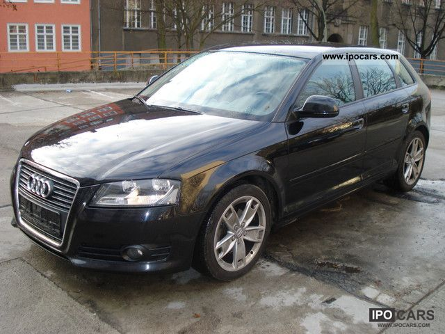 2009 audi a3 2 0 tdi sportback ambition dpf car photo and specs. Black Bedroom Furniture Sets. Home Design Ideas