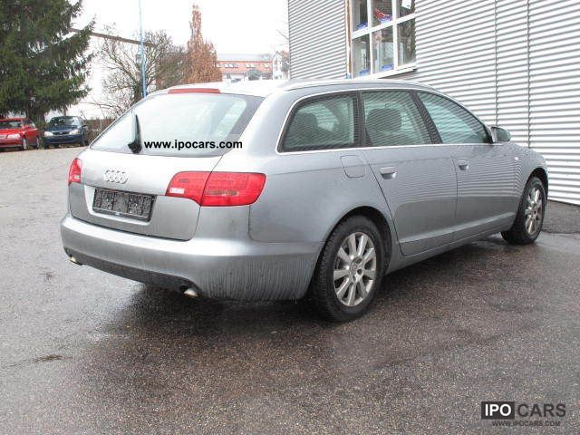 2007 audi a6 avant 3 0 tdi quattro tiptronic car photo and specs. Black Bedroom Furniture Sets. Home Design Ideas
