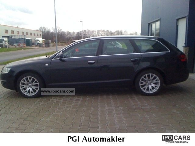 2006 audi a6 avant 3 0 tdi leather quattro navi car photo and specs. Black Bedroom Furniture Sets. Home Design Ideas