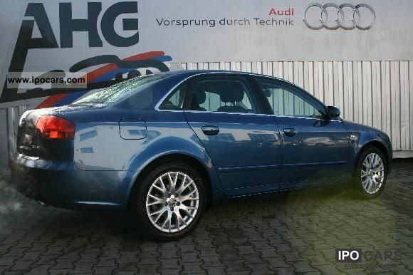 2007 audi a4 saloon 2 0 tdi car photo and specs. Black Bedroom Furniture Sets. Home Design Ideas