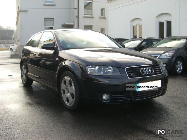 2004 audi a3 v6 3 2 quattro ambition leather xenon bose car photo and specs. Black Bedroom Furniture Sets. Home Design Ideas