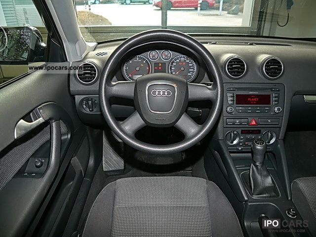 2008 audi a3 1 9 tdi attraction car photo and specs. Black Bedroom Furniture Sets. Home Design Ideas
