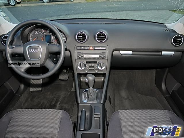 2006 audi a3 sportback 1 6 attraction air car photo. Black Bedroom Furniture Sets. Home Design Ideas