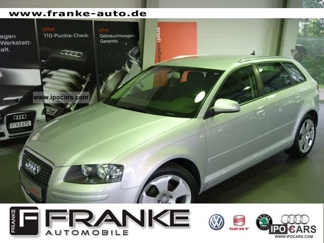 2008 Audi  A3 Sportback 1.9 TDI AIR ALU Limousine Used vehicle photo