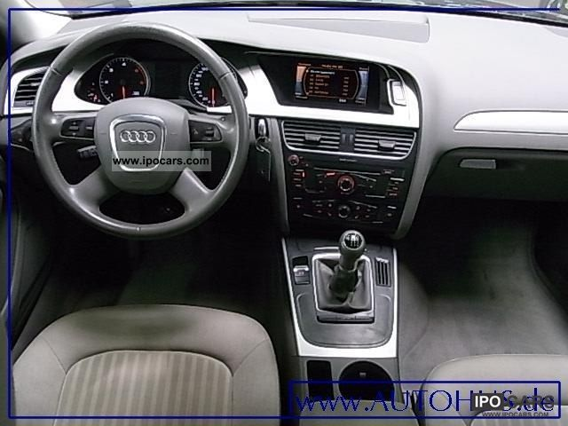 2009 Audi A4 Avant 2.0 TDI DPF ENVIRONMENT PDC SHZ ALU - Car Photo ...
