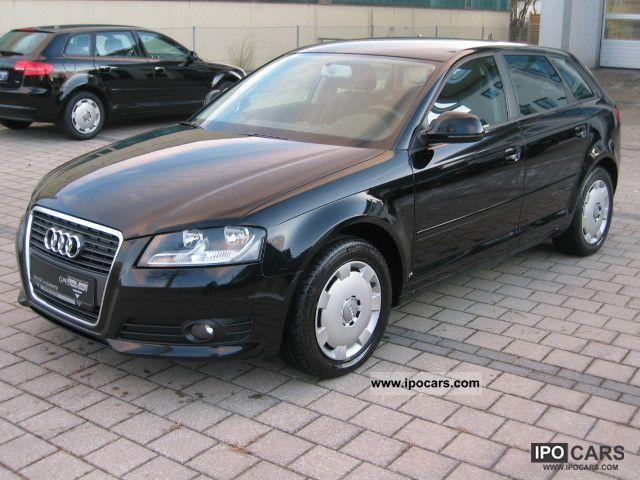 2009 Audi  A3 2.0 TDI Sportback Automatic Limousine Used vehicle photo