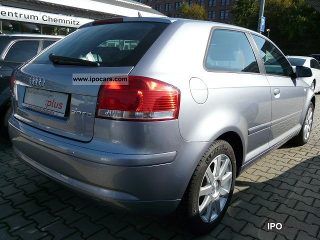 2008 audi a3 2 0 tdi attraction car photo and specs. Black Bedroom Furniture Sets. Home Design Ideas