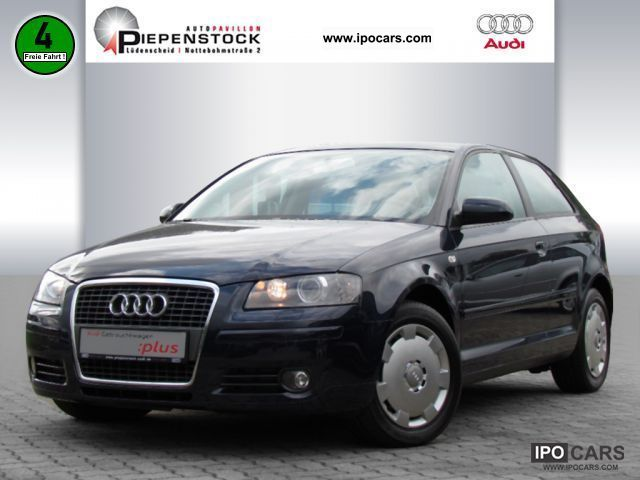 2007 audi a3 attraction 1 6 xenon car photo and specs. Black Bedroom Furniture Sets. Home Design Ideas