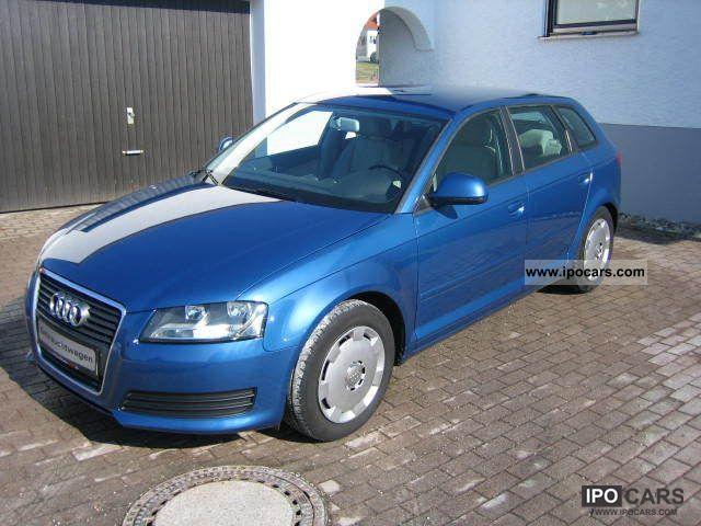 2009 Audi  A3 Sportback 1.9 TDI DPF setting cruise control Estate Car Used vehicle photo