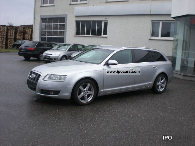 2007 audi a6 avant 3 0 tdi dpf 1 hand navi xenon bi car. Black Bedroom Furniture Sets. Home Design Ideas