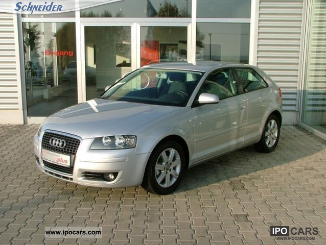 2007 audi a3 1 9 tdi e attraction dpf kwps 77 105 5 speed car photo and specs. Black Bedroom Furniture Sets. Home Design Ideas