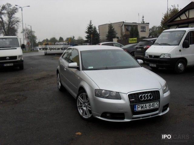 2008 Audi  A3 S-LINE! TDI! ZAREJESTROWANY! Other Used vehicle photo