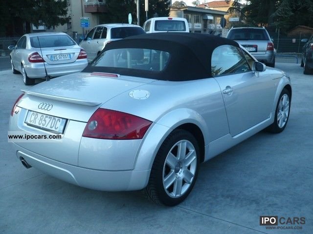 2005 audi tt roadster 1 8 t car photo and specs. Black Bedroom Furniture Sets. Home Design Ideas