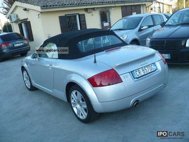 2005 Audi Tt Roadster 1 8 T Car Photo And Specs