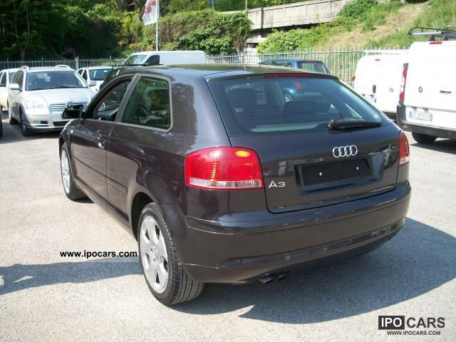 2006 audi a3 2 0 tdi 140cv ambition 140 000 km tagliandi car photo and specs. Black Bedroom Furniture Sets. Home Design Ideas