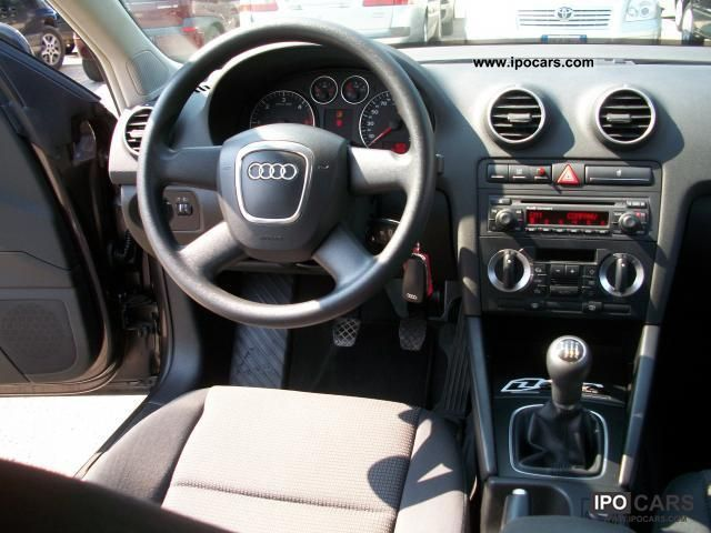 2006 audi a3 2 0 tdi 140cv ambition 140 000 km tagliandi. Black Bedroom Furniture Sets. Home Design Ideas